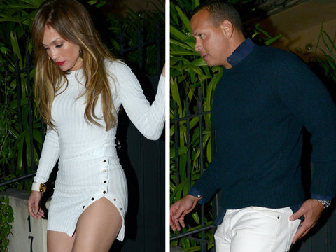 Jennifer Lopez and A-Rod Are Trying to Be Sneaky With These Date Night Photos