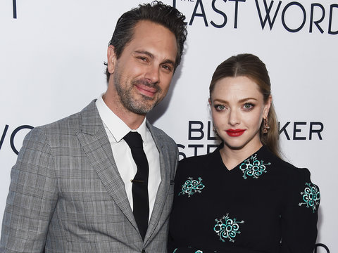 Amanda Seyfried Is Married -- Husband Thomas Sadoski Tells James Corden All About the…