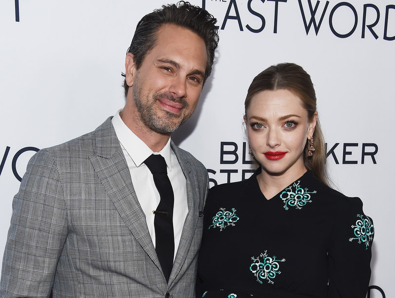 Amanda Seyfried Is Married -- Husband Thomas Sadoski Tells James Corden All About the Secret Ceremony (Video)