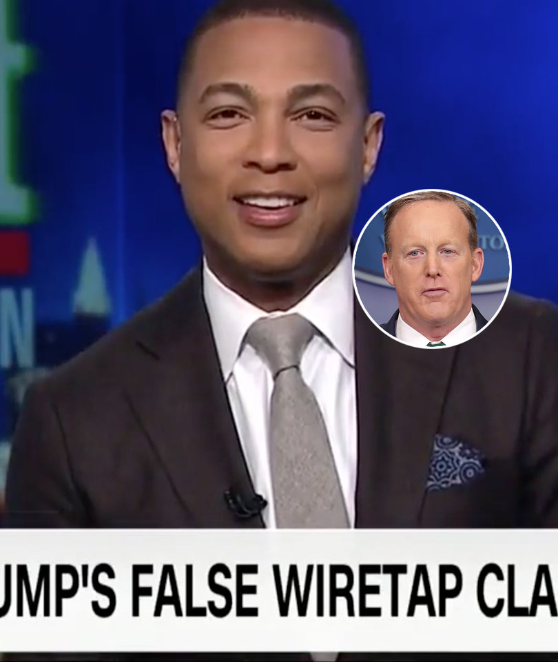 Don Lemon Quotes 'Billy Madison' to Rag on Sean Spicer: 'Everyone in This Room…