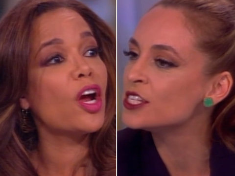 'The View': Jedediah Bila and Sunny Hostin Clash Over Meals on Wheels Budget Cuts (Video)