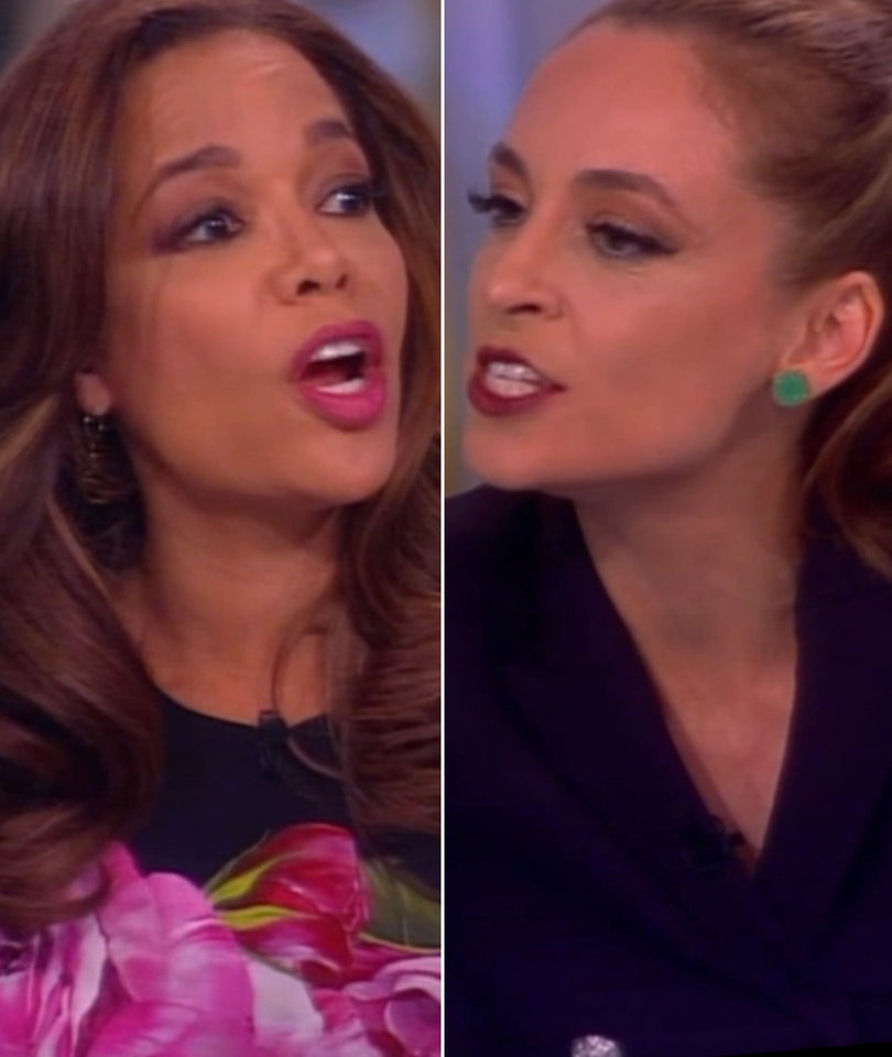 'The View': Jedediah Bila and Sunny Hostin Clash Over Meals on Wheels Budget…