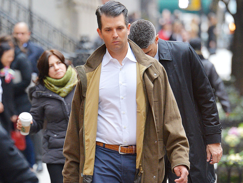 The Internet Has a Field Day With Donald Trump Jr. NY Times Photo