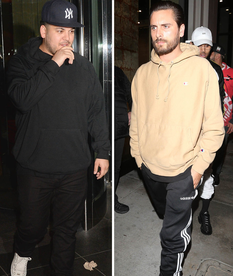 Scott Disick Says Rob Kardashian's Situation 'Can't Be That Bad'