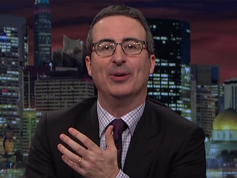 John Oliver Blasts 'Toddler Psychopath' Trump and 2 More Must-See Moments (Video)