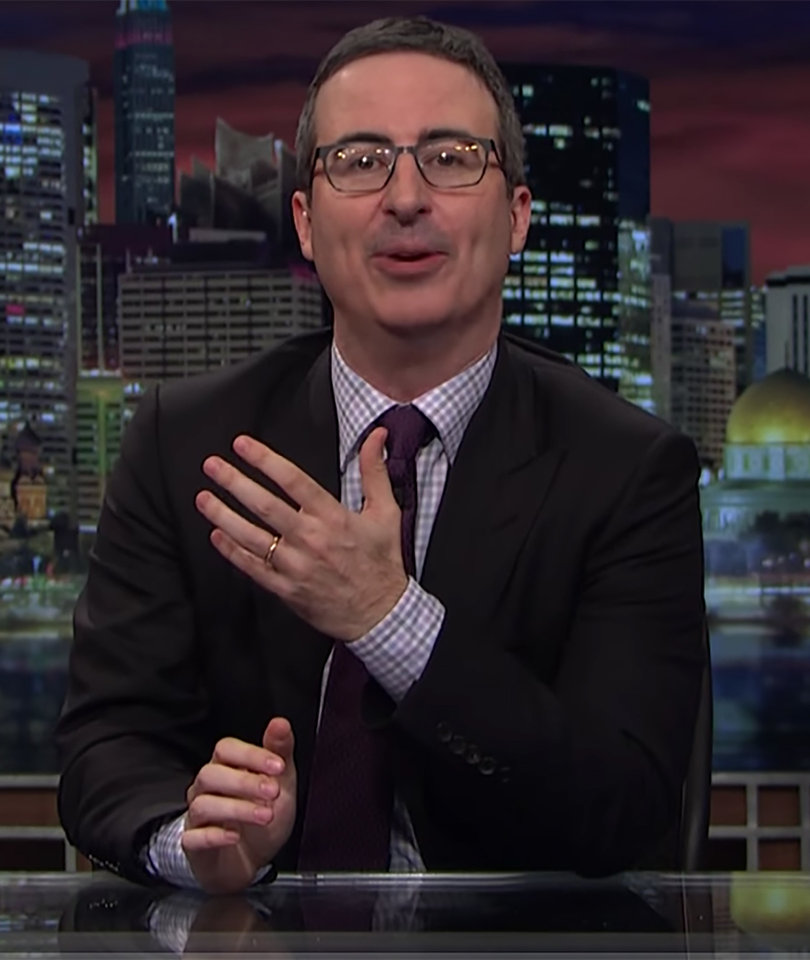John Oliver Blasts 'Toddler Psychopath' Trump and 2 More Must-See Moments…