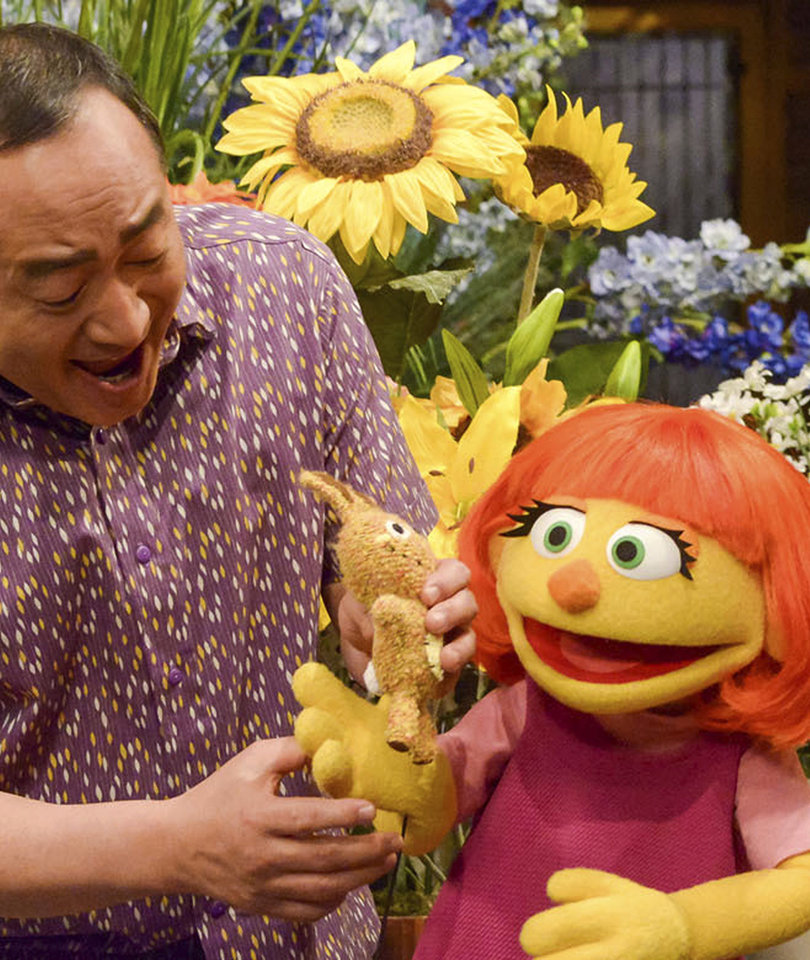 Meet 'Sesame Street's' First Muppet With Autism Named Julia (Video)