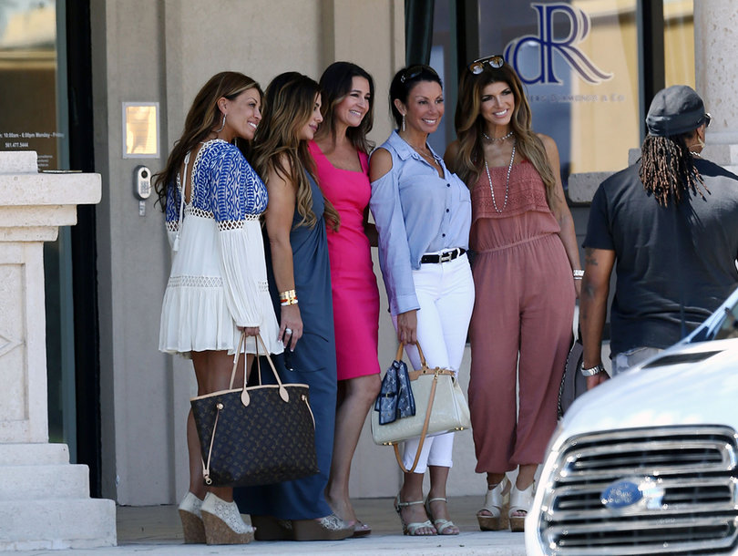 Danielle Staub Shooting With Teresa Giudice and 'Real Housewives of New Jersey' Cast -- See First Photos!