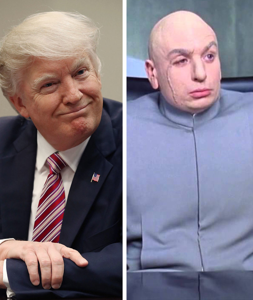 Donald Trump Is Dr. Evil on NY Daily News' Latest Crazy Cover (Photo)
