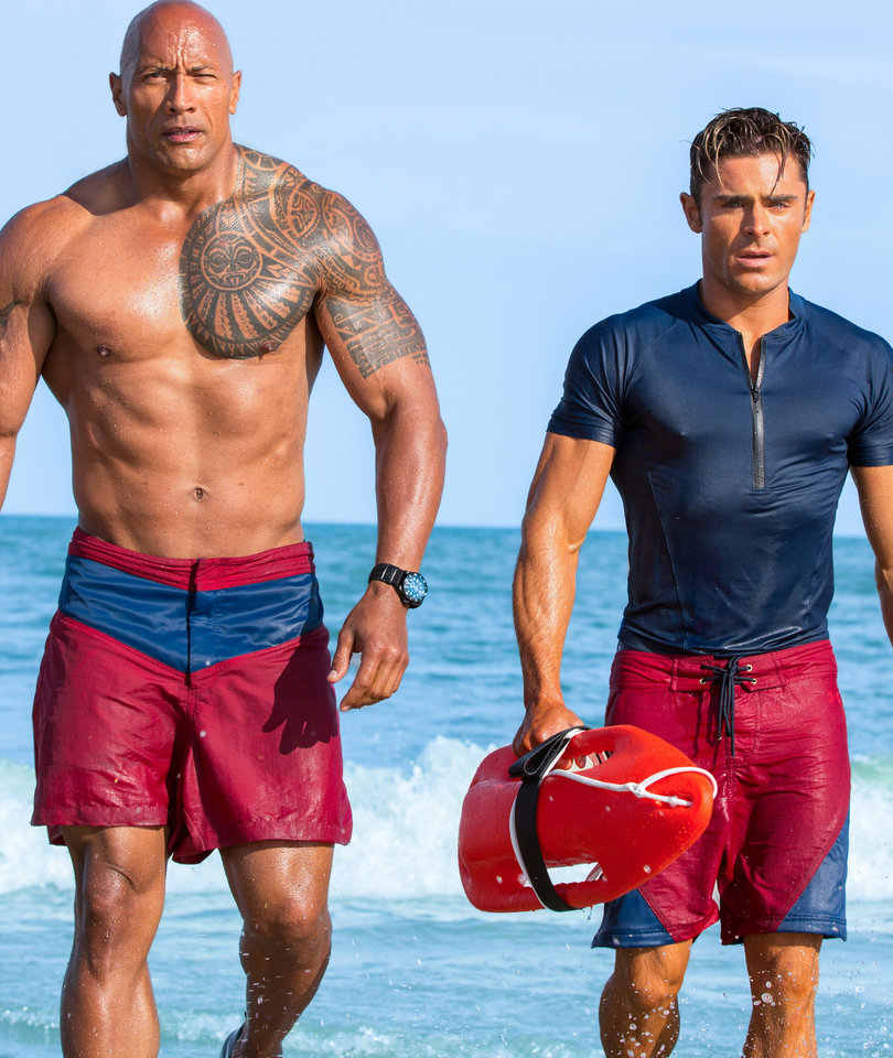 The Rock's Got A Big Johnson, Zac Efron Is a 'P---y' in 'Baywatch'
