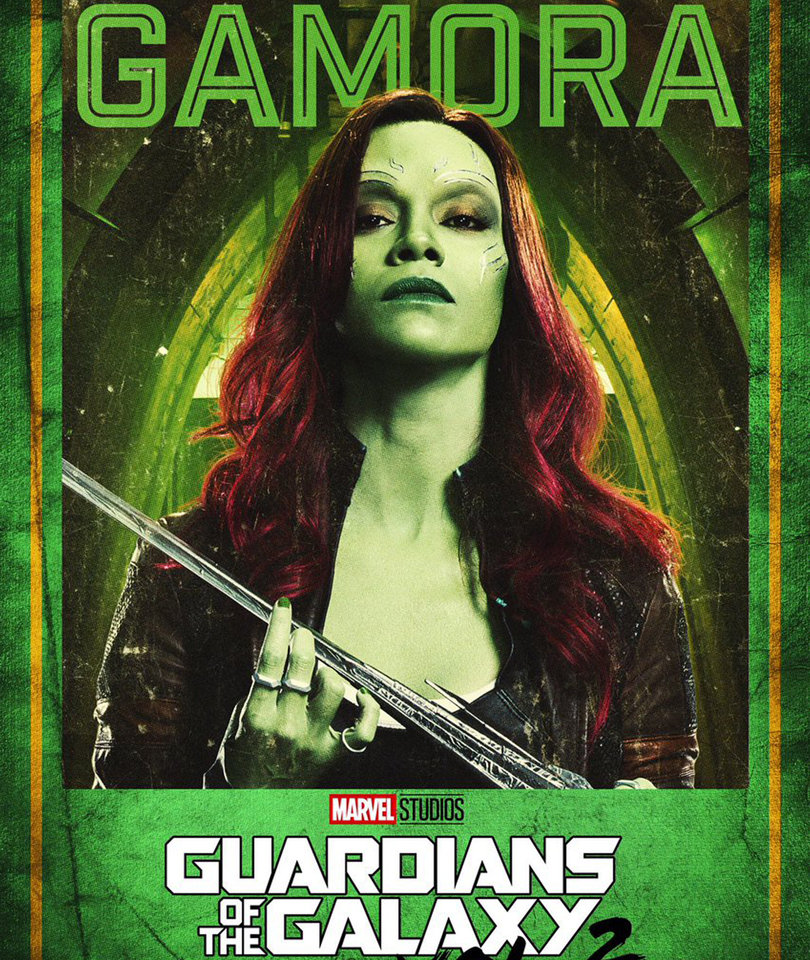 New 'Guardians of the Galaxy 2' Character Posters Revealed