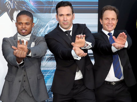 OG 'Power Rangers' Reunite on the Red Carpet at New Film Premiere