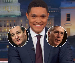 Trevor Noah Notices Ted Cruz Might Actually Be 'In Love' With Supreme Court…
