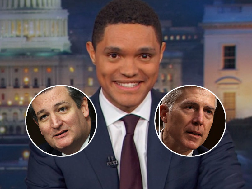 Trevor Noah Makes Congressional Love Connection (Video)