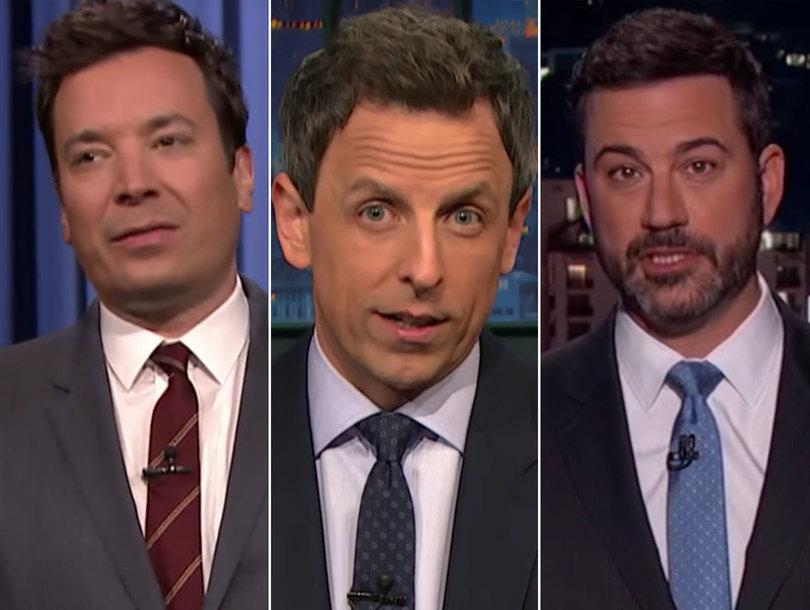 Which Late-Night Host Called Trump an 'Ignorant Slut' Last Night?