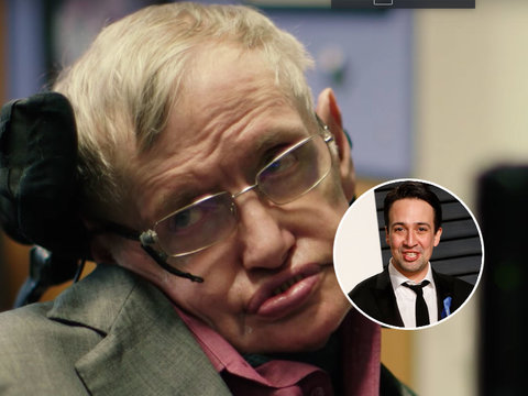 Eddie Redmayne, Liam Neeson Audition to Be the New Voice of Stephen Hawking (Video)