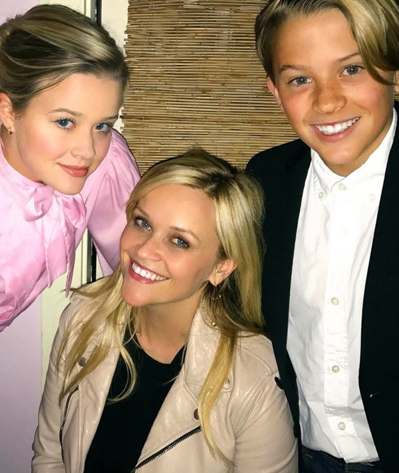 'Proud' Mom Reese Witherspoon Celebrates B-Day with Look-Alike Kids