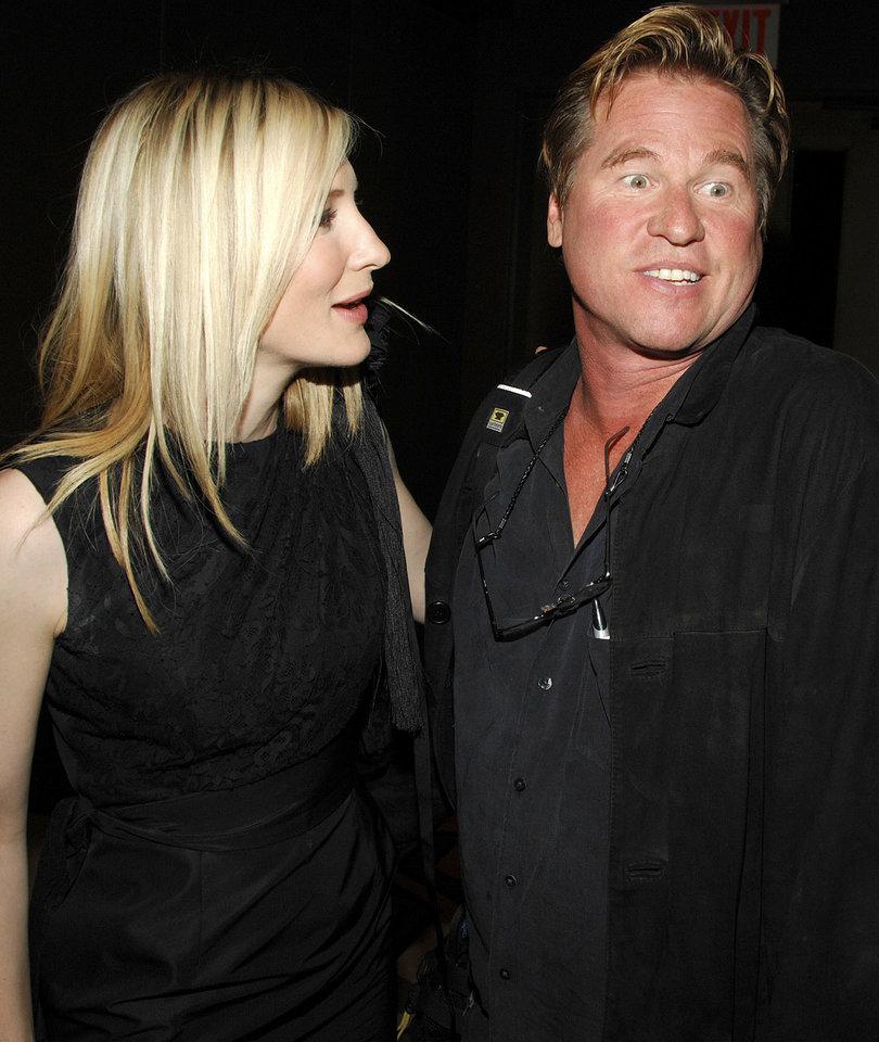 Val Kilmer Went On Weekend-Long Twitter Bender Gushing Over Cate Blanchett