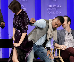 Cuba Gooding Jr. Lifts Up Sarah Paulson's Skirt at PaleyFest -- And People Are…