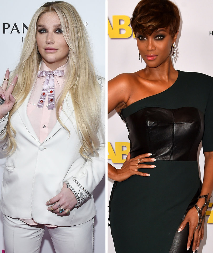 Why Kesha Is Giving Us Major Tyra Banks Flashbacks for Body Criticism Clapback:…