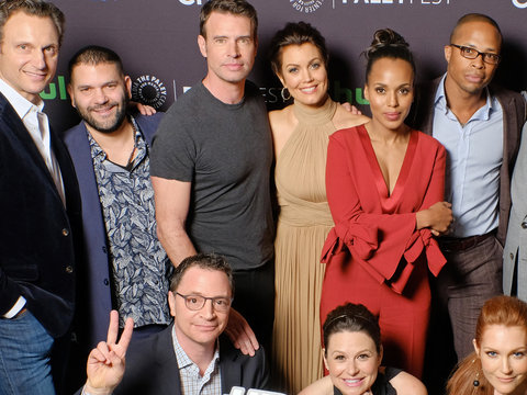 'Scandal' Cast Teases 100th Episode & OMG Moments at PaleyFest