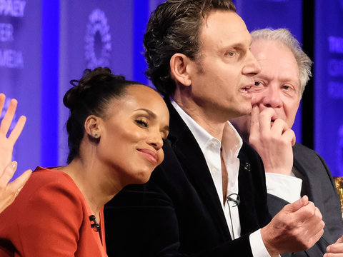 'Scandal' at PaleyFest: A Kerry Washington Treasured Baby Moment, A Funeral And Lots of…