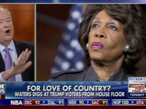 Bill O'Reilly Goes In on Maxine Waters