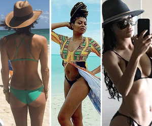 Bethenny Frankel, Taraji P Henson, and Naya Rivera Soak Up the Sun