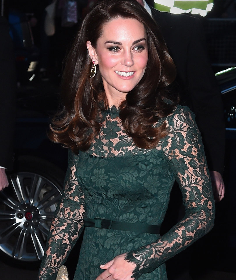 Kate Middleton Looks Gorgeous In Green In London
