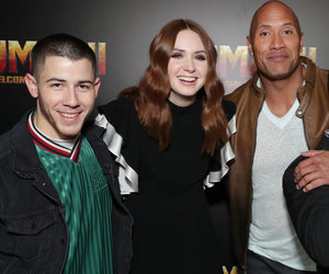 'Jumanji' Cast Takes Vegas In Today's Hot Photos