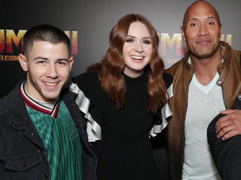 'Jumanji' Cast Takes Vegas In Today's Hot Photos