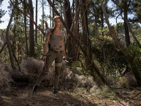 'Tomb Raider' Trailer Features Lara Croft Kicking Some Serious Ass