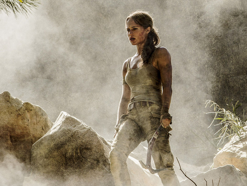 'Tomb Raider' Trailer Features Alicia Vikander's Lara Croft Kicking Some Serious Ass