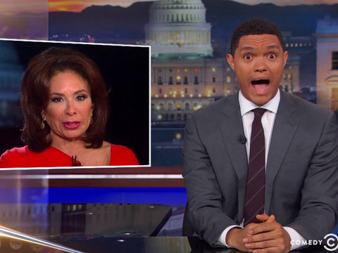 Trevor Noah Compares Jeanine Pirro's 'Insane' Fox News Rant to 'North Korea's…