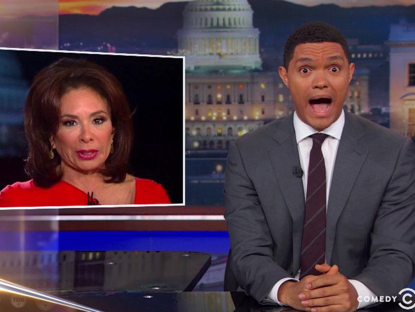 Trevor Noah Compares Jeanine Pirro's 'Insane' Fox News Rant to 'North Korea's…