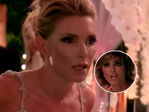 Eden Sasson Lets the F-Bombs Fly In Attack on Lisa Rinna In 'RHOBH' Sneak Peek (Video)