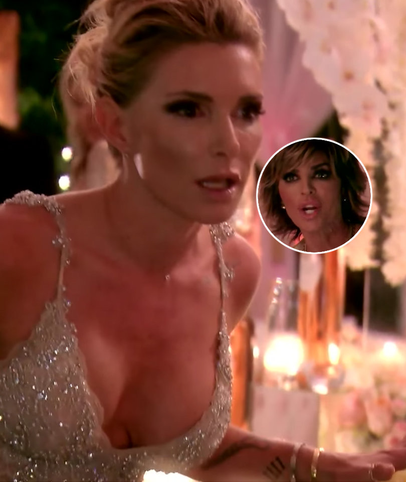 Eden Sasson Lets the F-Bombs Fly In Attack on Lisa Rinna In 'RHOBH' Sneak Peek…