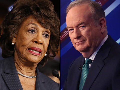 Maxine Waters Is Not 'Intimidated' by Bill O'Reilly: 'I'm a Strong Black Woman' (Video)