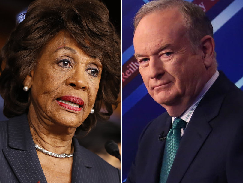 Maxine Waters Is Not 'Intimidated' by Bill O'Reilly: 'I'm a Strong Black Woman'…