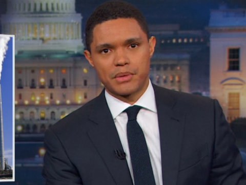 Trevor Noah Blasts Trump for Destroying Environment: 'He Must Really Hate Being…