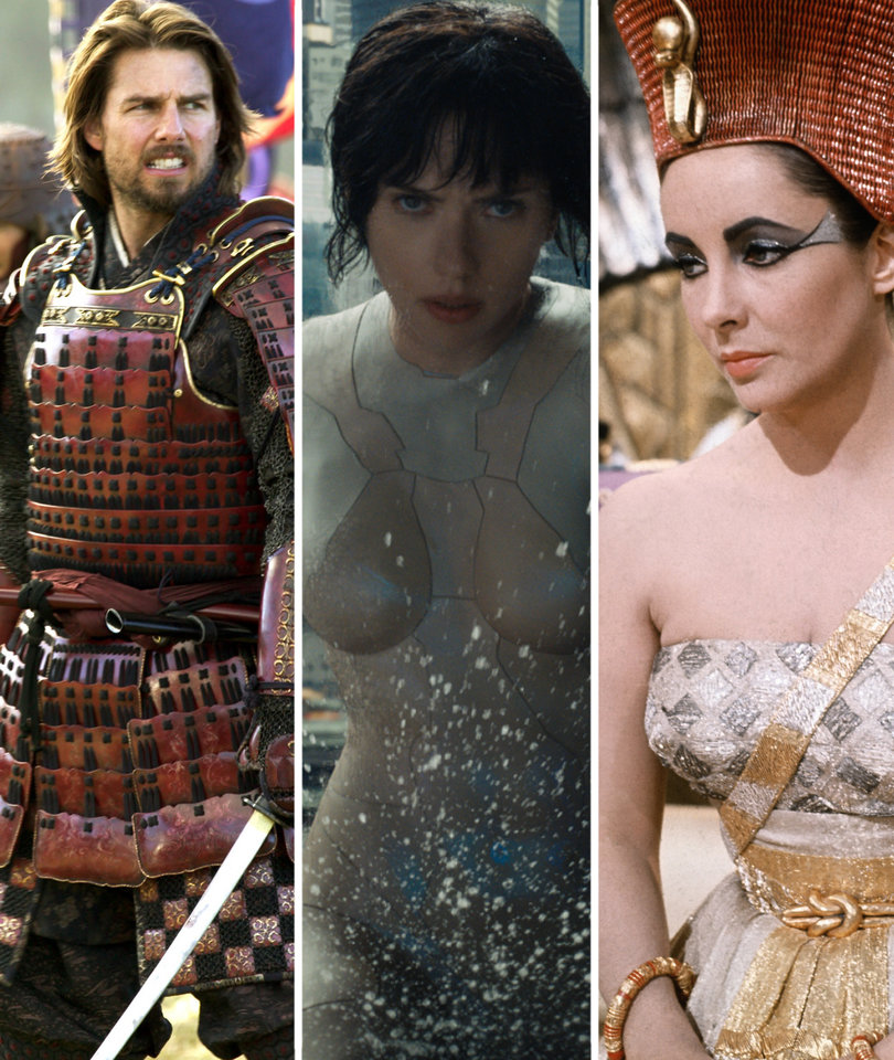 A Visual History of Whitewashing In Hollywood