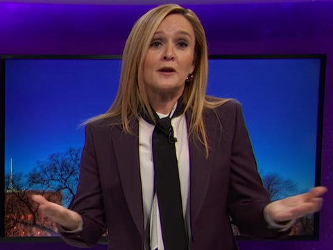 Samantha Bee Likens Trumpcare Fail to 'Thelma & Louise' Deadly Ending (Video)