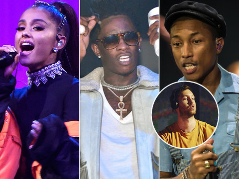 Ariana Grande, Pharrell and Young Thug Team Up for Calvin Harris Summer Jam 'Heatstroke'…