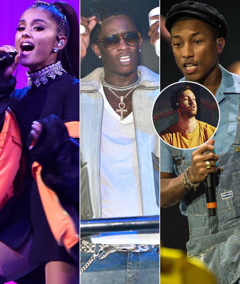 Ariana Grande, Pharrell and Young Thug Team Up for Calvin Harris Summer Jam…