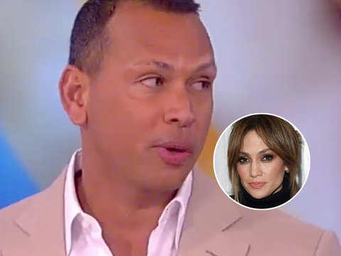 Alex Rodriguez Grilled About Dating J.Lo on 'The View': 'She's an Amazing, Amazing Girl""