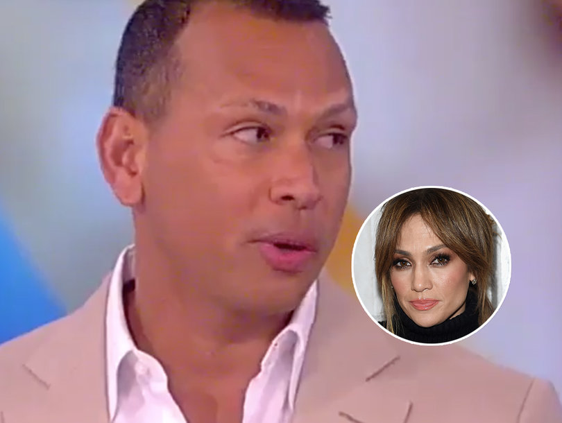 Alex Rodriguez Grilled About Dating J.Lo on 'The View': 'She's an Amazing,…