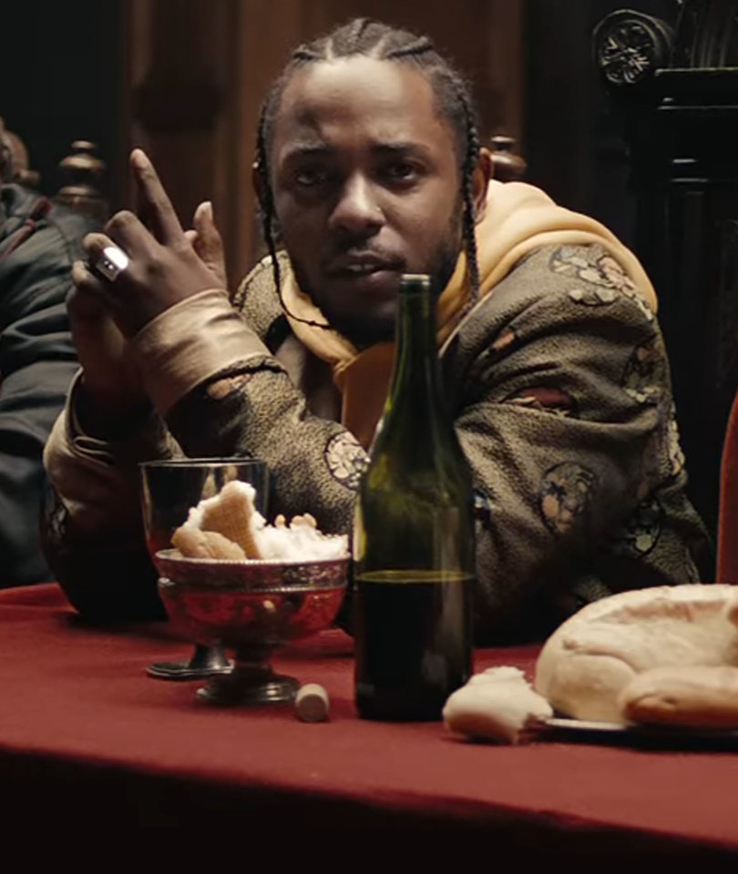 Kendrick Lamar's 'Humble' Music Video Is Far From Modest