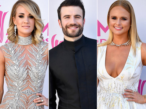 See All the Academy of Country Music Awards 2017 Red Carpet Fashion