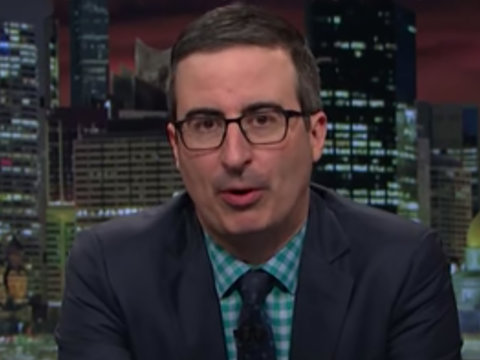 John Oliver Can't Believe Trump's 'Stupid Watergate Found a Way to Get Even Stupider'…