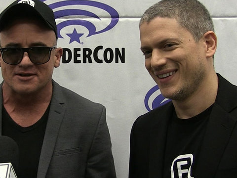 Dominic Purcell and Wentworth Miller on 'Prison Break' Revival